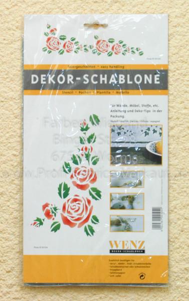 Rosen Schablone