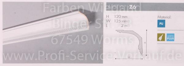 NMC Arstyl® ornamentiertes Zierprofil  Z6, 200 x 12 x 12,5 cm