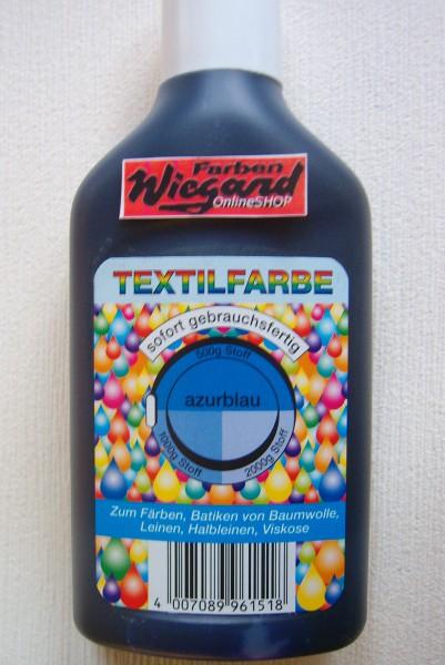 Textilfarbe schwarz 250 ml