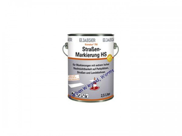 Kronalux® Straßenmarkierung HS750 (High-SolidFarbe), weiß, 37 kg