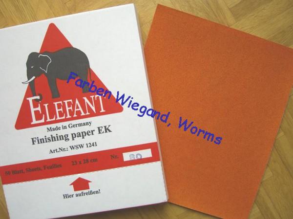 Schleifpapier Bogen Korn 80