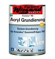 Kronalux Acryl Grundierung, farblos, 750ml