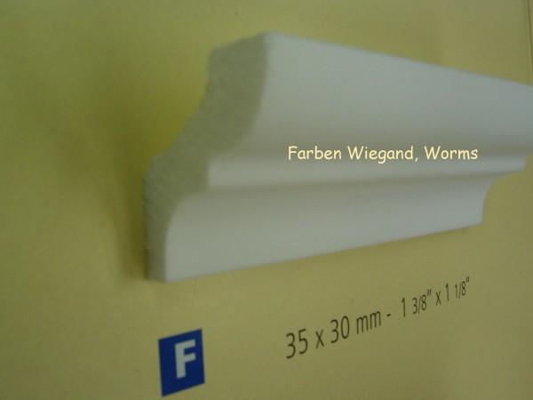 NOMASTYL® PLUS Zierprofil  F  200 x 3,5  x  3 x  cm