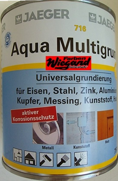 Aqua Multigrund, weiß, 750 ml