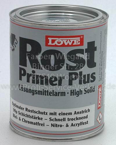 LÖWE Rost-Primer Plus grau 750 ml