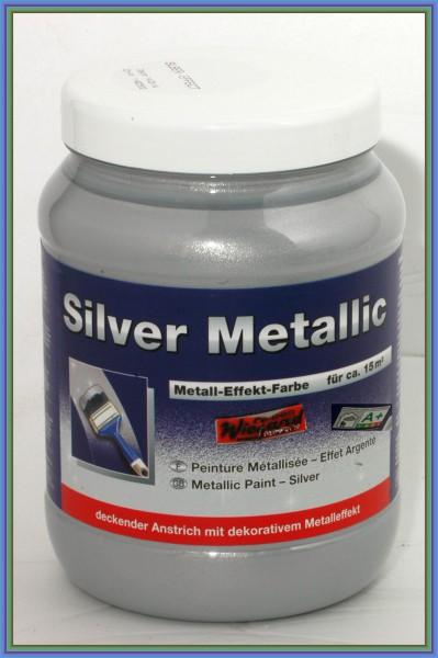Silver Metallic Lasur, silber deckend, 1,5 l