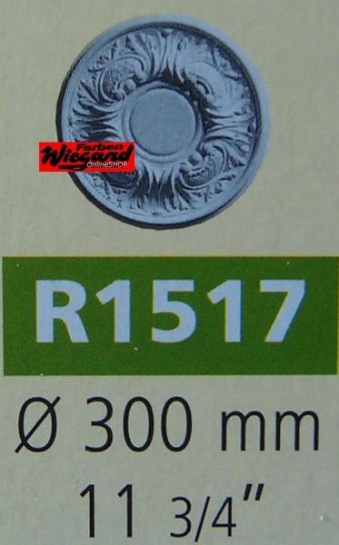 Rosette R 1517;  Durchmesser 300 mm
