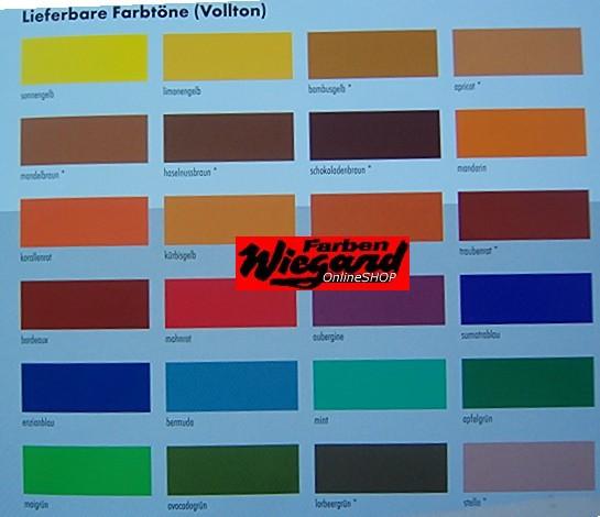 Voll- + Abtönfarbe Mohnrot 250ml
