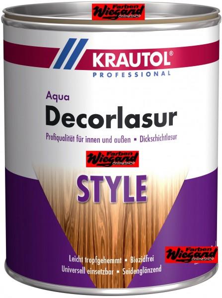 Aqua Decorlasur STYLE, palisander, 2.5 l