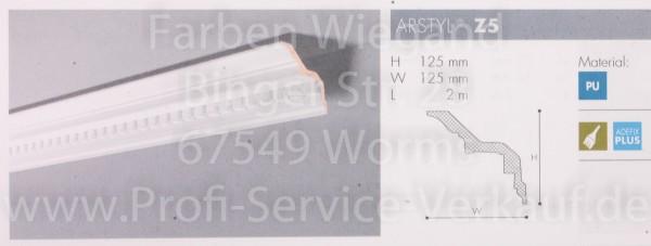 Z5 ornamentierte NMC Arstyl®  Stuckleiste, 200 x 12,5 x 12,5 cm