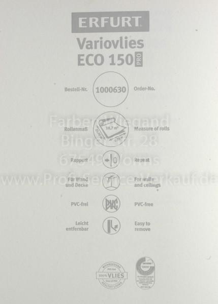 Erfurt Variovlies / Ecovlies ECO150 PRO, 25 x 0,75 m