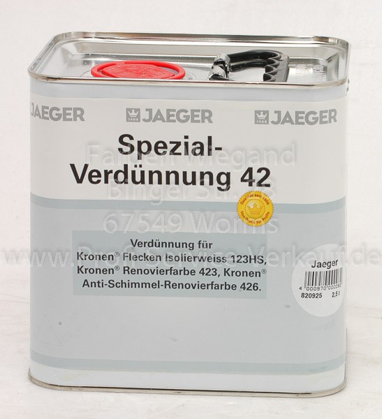 Spezial-Verdünnung 42 - 2.5 l