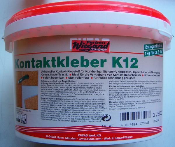 Kontaktkleber K12 2,5 kg