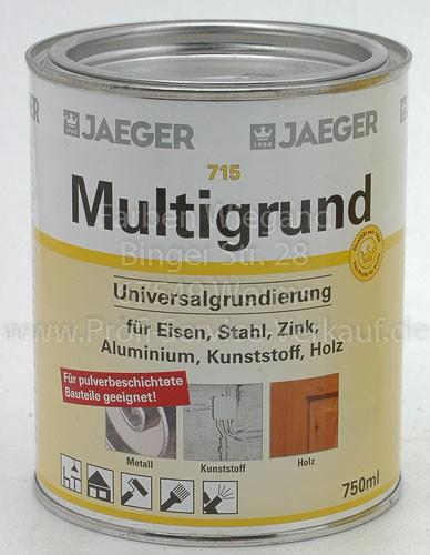 Multigrund lh, weiß, 750 ml