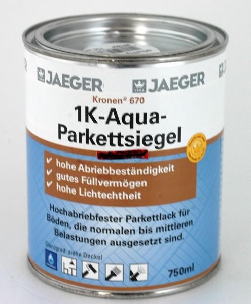 Kronen® 1K-Aqua Parkettsiegel glänzend, 750 ml