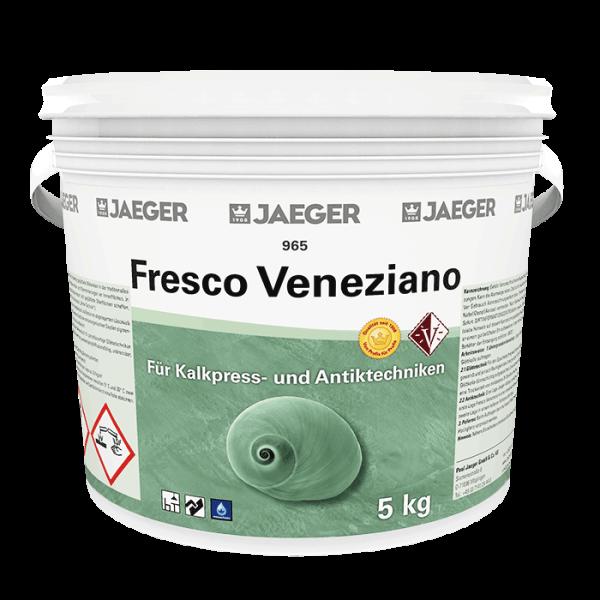 Kalkpresstechnik Spachteltechnik Fresco Veneziano - JAEGER