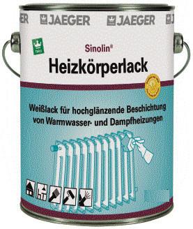 Sinolin® Heizkörperlack glänzend 10 L
