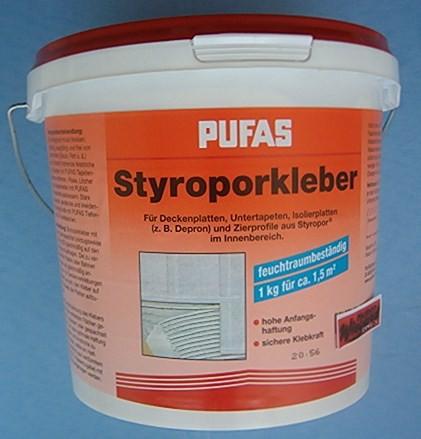 Styroporkleber und Renoviervlieskleber, 4 kg