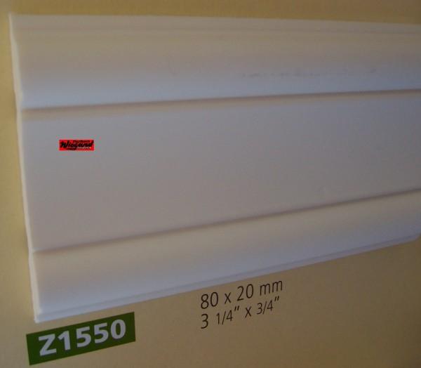 Z1550  lineare NMC Arstyl®  Stuckleiste, 200 x 8 x 2 cm