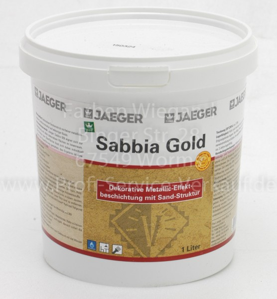 Sabbia Gold, 1 l