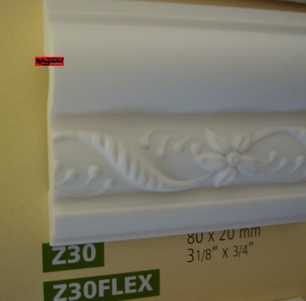 Arstyl Flex, ornamentiertes Zierprofil Z 30 FLEX, 200 x 8 x 2 cm