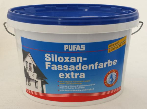 Fassadenfarbe silikonharzverstärkt