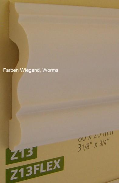 Z 13 FLEX  lineare NMC Arstyl®  Stuckleiste,  200 x 8 x 2 cm