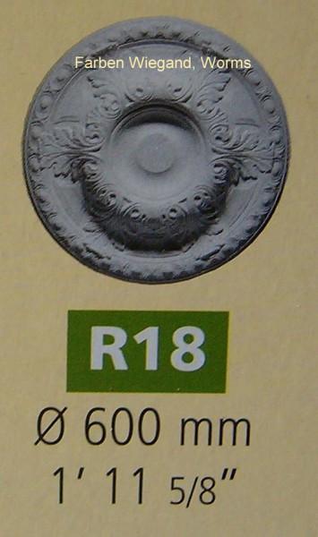 Rosette R 18;  Durchmesser 600 mm
