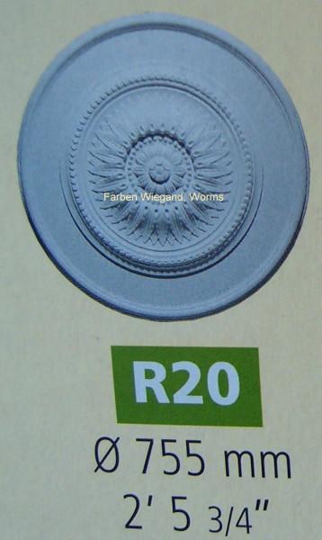 Rosette R 20;  Durchmesser 775 mm