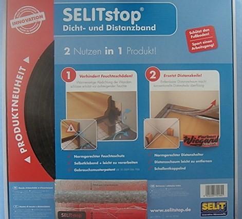 SELITstop® Dicht- und Distanzband