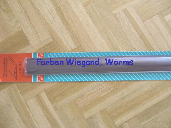 Übergangsschiene, Weich-PVC, grau, 3,8 x 100 cm