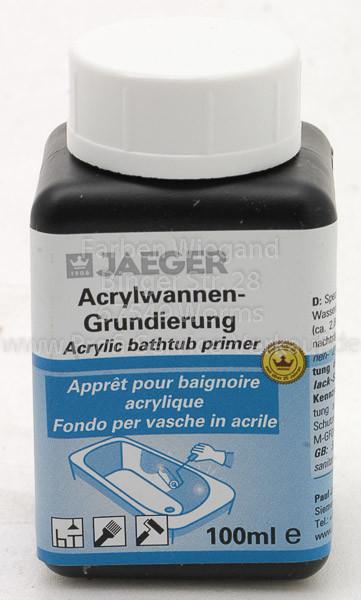 Grundierung für Acrylwanne
