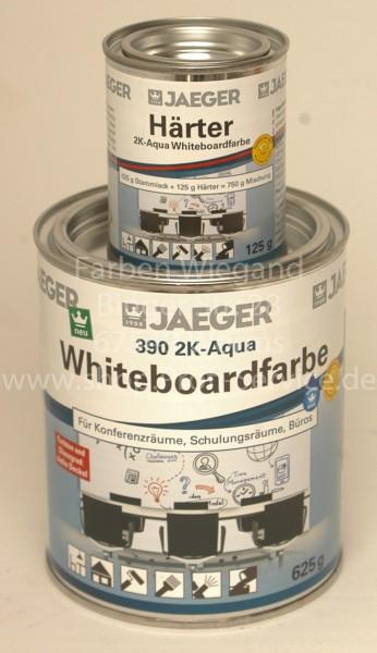 Whiteboardfarbe 2K-Aqua  Jaeger farblos glänzend 750 g