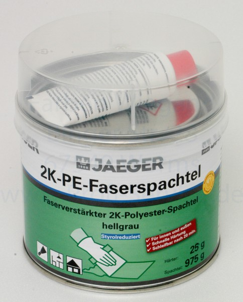 Kronen® 2K-PE-Faserspachtel, 1 kg