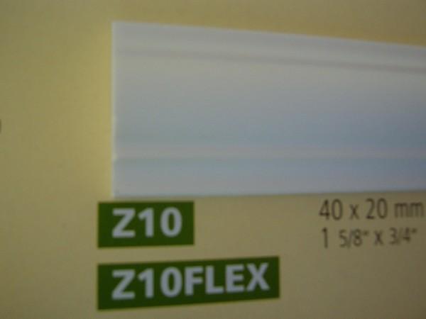 Z10 Flex  lineare NMC Arstyl® Stuckleiste, 200 x 4 x 2 cm