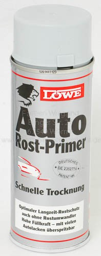 LÖWE Auto-Rost-Primer Spray, grau