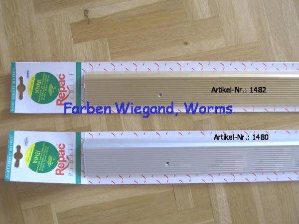Winkel Profil, Alu gold 42 mm x 20 mm x 100 cm