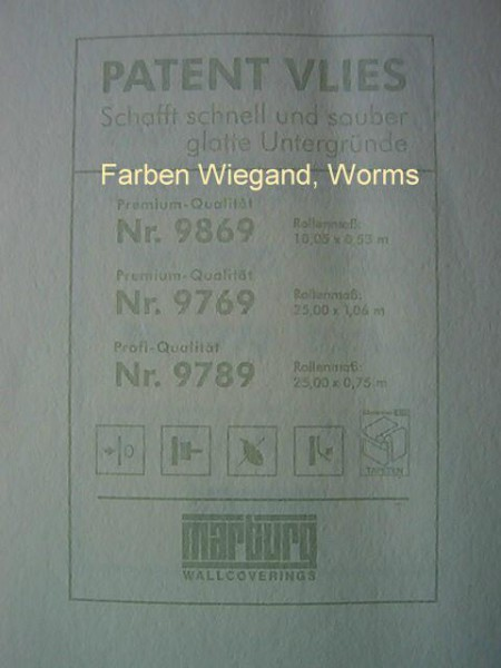 Patent Vlies 25,00 * 1,06 m