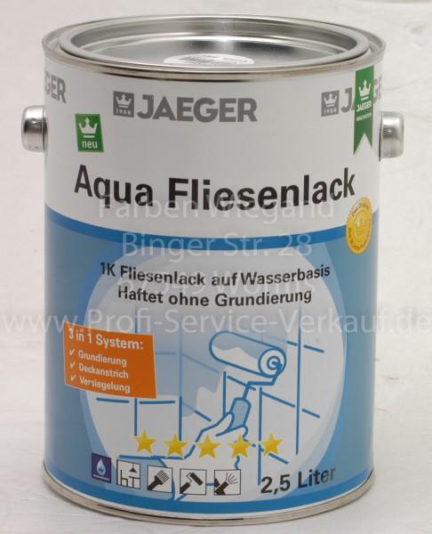 Aqua Fliesenlack perla / mittelgrau 2,5 l