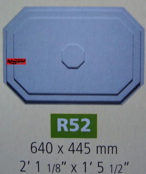 Rosette R 52;  640 x 445 mm