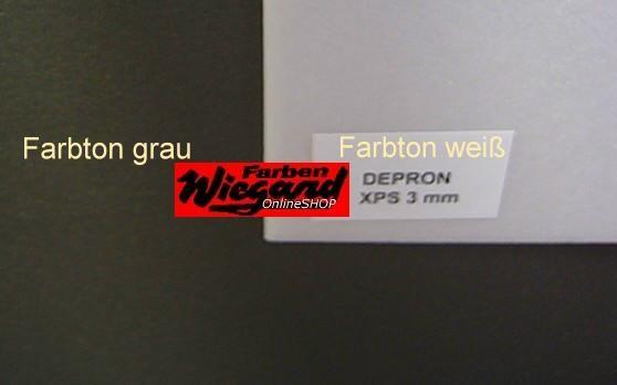 Depron XPS extra hart 3mm grau