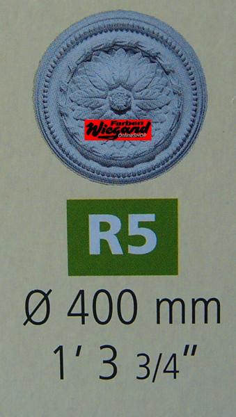 Rosette R 5;  Durchmesser 400 mm