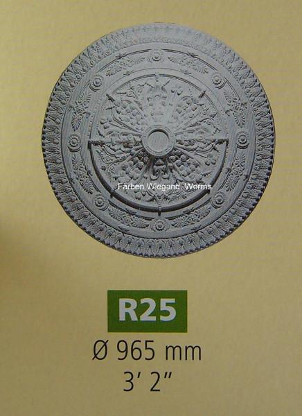 Rosette R 25;  Durchmesser 965 mm