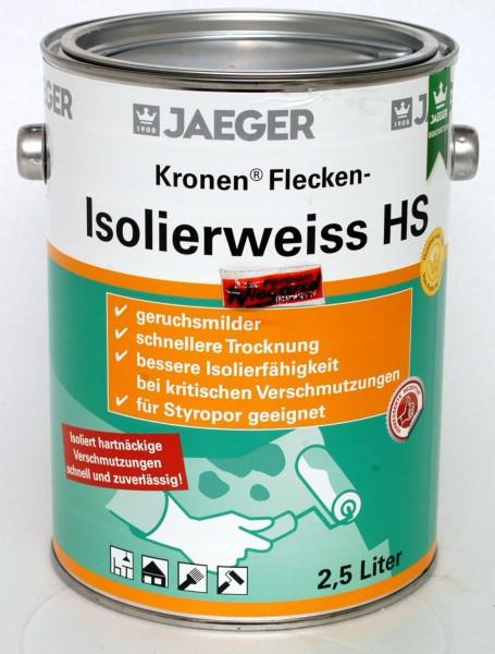 Kronen® Flecken-Isolierweiss 123HS, 2.5 L