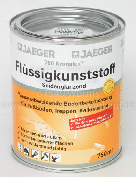 Kronalux® Flüssigkunststoff kieselgrau 750 ml