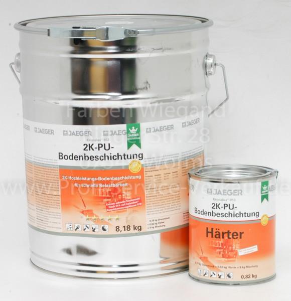 Kronalux® 2K-PU-Bodenbeschichtung kieselgrau, sdglzd, 9 kg