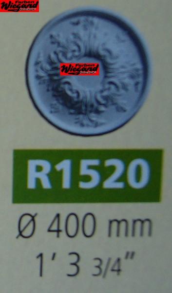 Rosette R 1520;  Durchmesser 400 mm