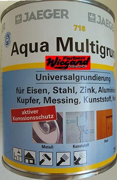 Aqua Multigrund, weiß, 125 ml