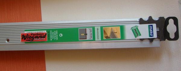 Alu-Treppenkantenprofil, silber, gelocht