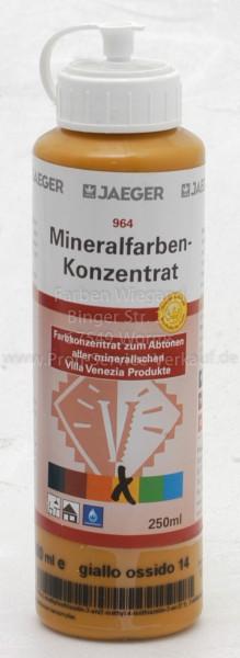 Mineralfarbenkonzentrat Giallo Ossido 250 ml